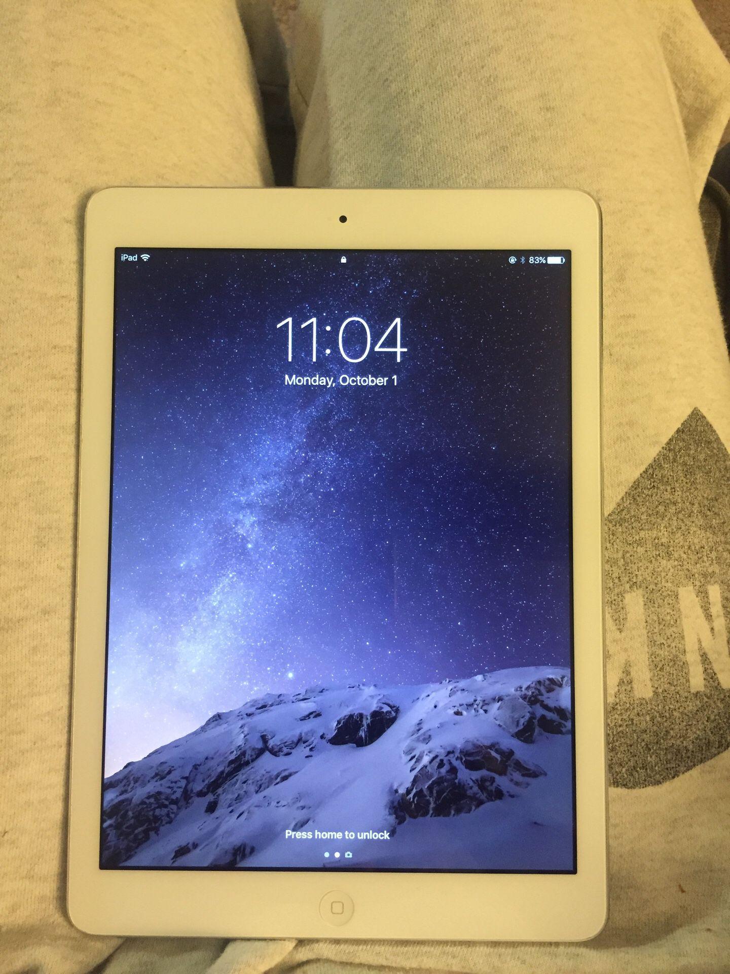 Gently used iPad