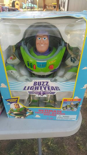 Original Buzz Lightyear ultimate talking action figure for Sale in Mesa, AZ