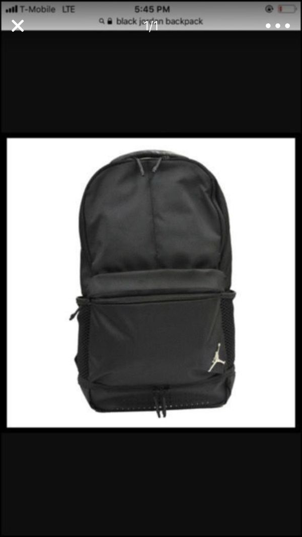 Black Jordan backpack (New) for Sale in Los Angeles 9c85a2c141394