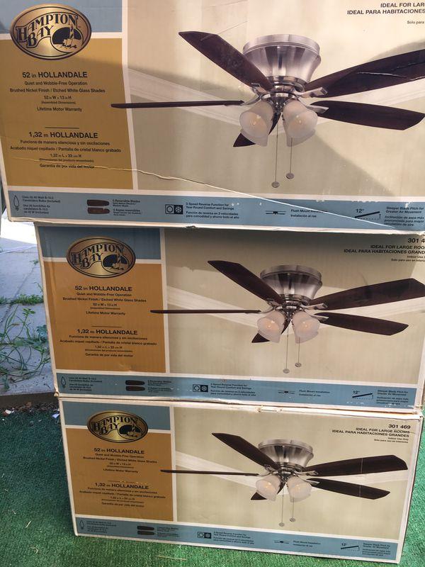 Hampton Bay 52 Hollandale Ceiling Fan