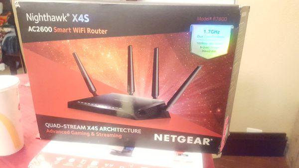 NETGEAR Nighthawk® X4S – AC2600 Smart WiFi Router (R7800) for Sale in  Sacramento, CA - OfferUp
