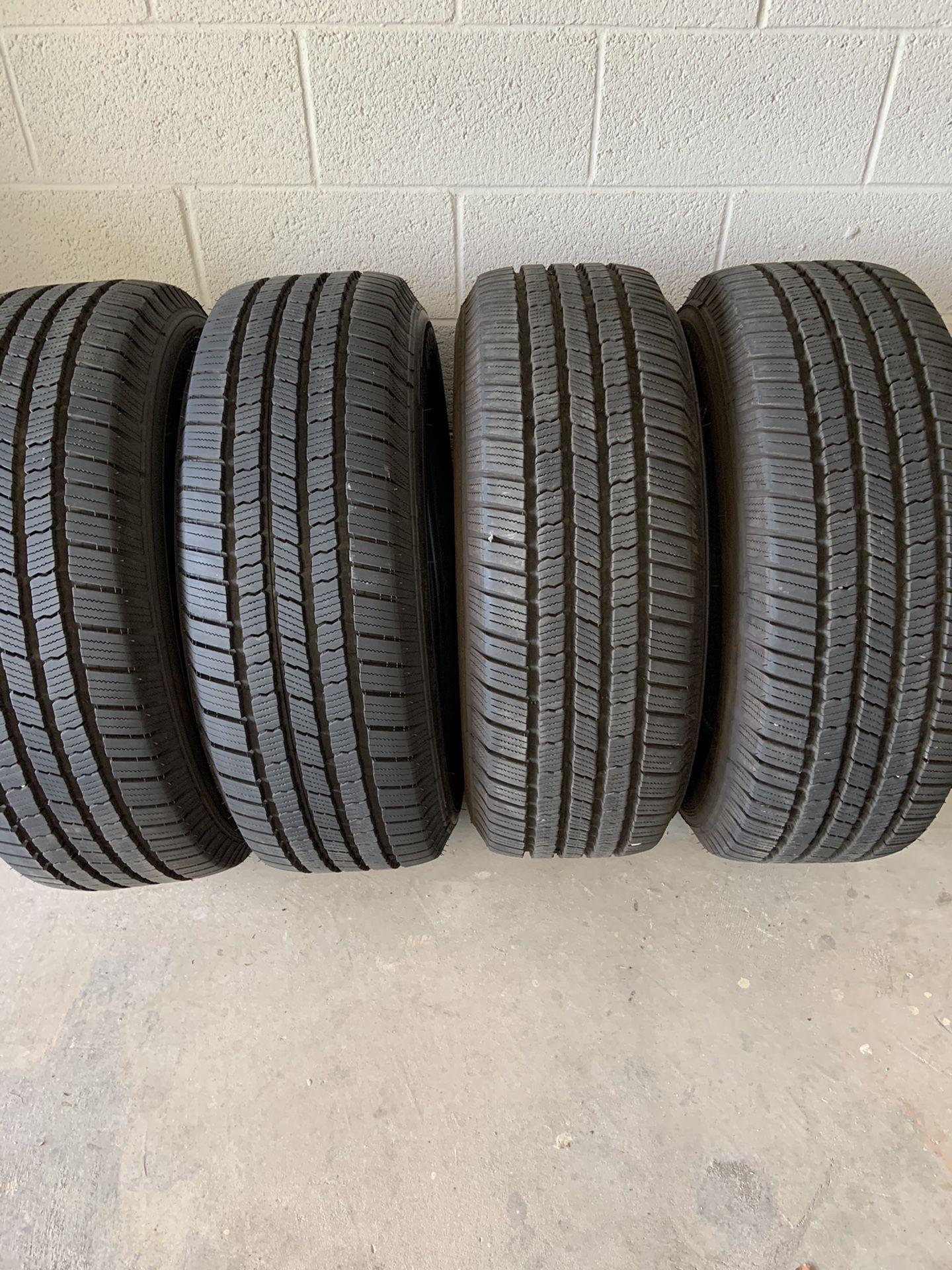 4 Michelin Defender LTX MS 265/65 R18