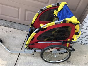 Photo Like new condition MASTER CYCLE PULL BEHIND BIKE ONLY $75 firm