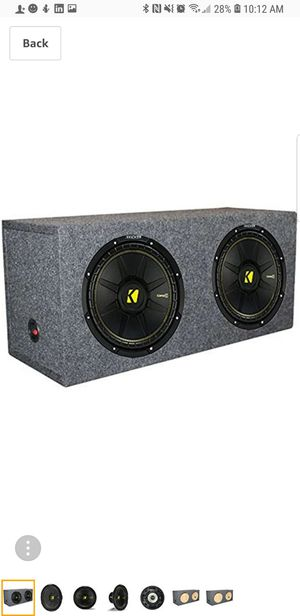 2 kicker 12s boss 1600 amp ported box for Sale in Columbus, OH