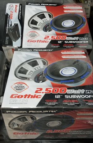 Power Acoustik car audio for Sale in Baltimore, MD
