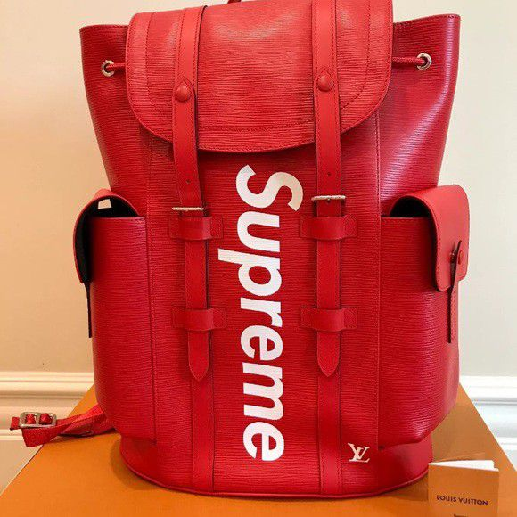 f926118b7dc Louis Vuitton x Supreme Christopher Backpack for Sale in Chicago, IL ...