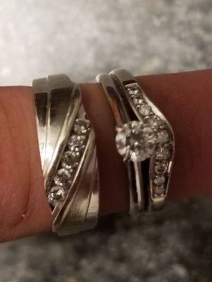 His and hers wedding rings for Sale in Mount Dora, FL