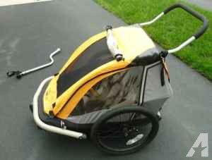 Kidarooz 2 in 1 bike stroller / double twin stroller for Sale in Falls Church, VA