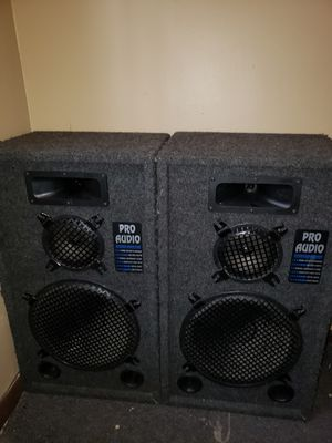 Pro audio speakers for Sale in Fall River, MA