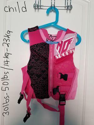 Girls swim life-jacket for Sale in Phoenix, AZ