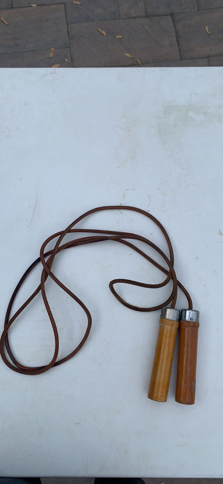 Leather Jumprope