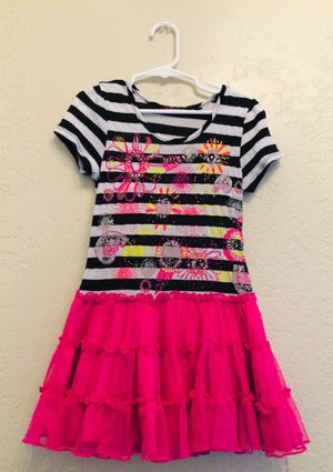 New and used flower girl dresses for sale in tucson az offerup girls 6t pink dress w black white stripes and flowers for sale in mightylinksfo