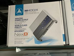 Photo Jl audio m400/4 get the best deals in la today! This is a killer deal!
