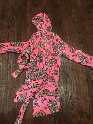 Youth girl fleece robe for Sale in Dallas, TX