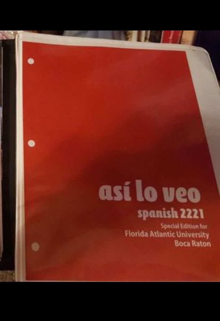 Spanish textbook FAU