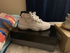 e13dc6c456e Jordan 11 platinum size 10 200  sesame 9.5 size and 250 and the af1 90