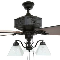 Hampton Bay Lonestar Ii 52 Indoor Natural Iron Ceiling Fan New For Sale In Plantation Fl Offerup