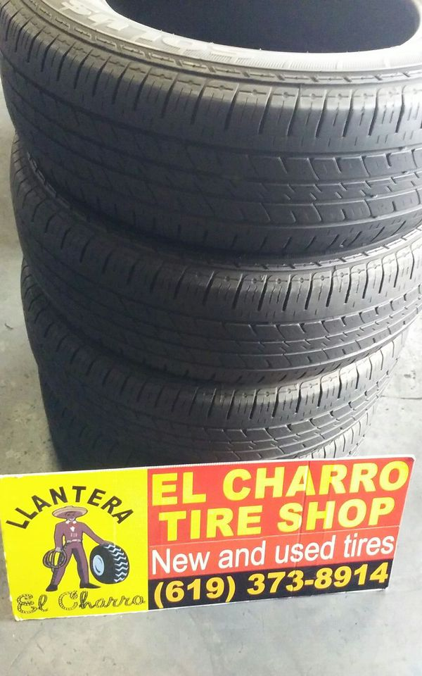 Set Of 4 Used Tires 235 65r17 Brand Kumho With 70 For Sale In Chula