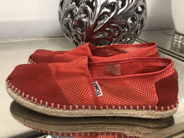 318743c18b1 TOMS Classic Mesh Alpargata Slip-On Women s Size 7 (Clothing   Shoes) in  Tolleson