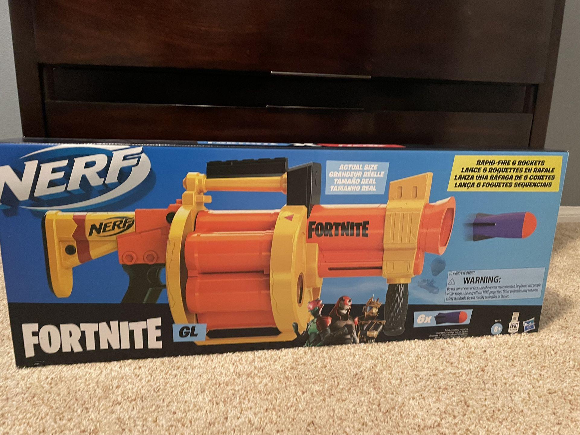 Nerf Fortnite Gun