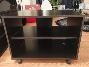Tv stand on wheels for Sale in Arlington, VA