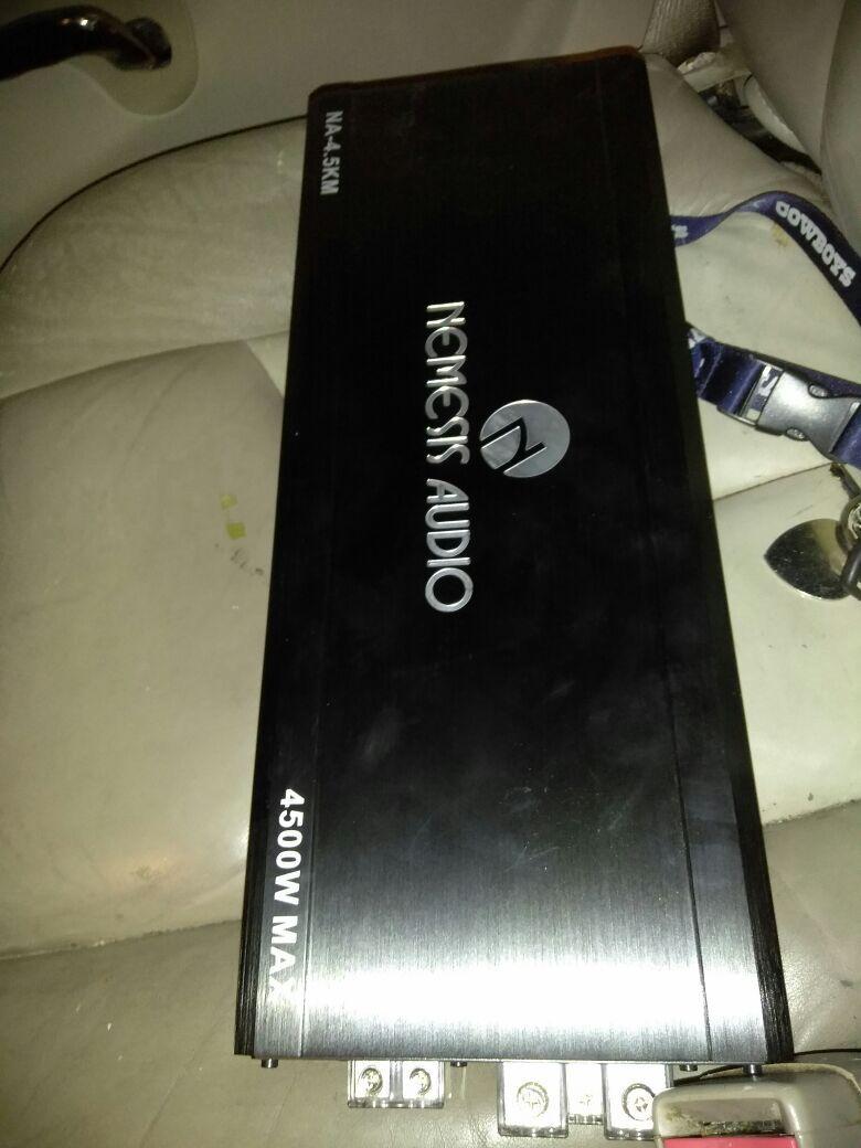 Nemesis 4400 amp