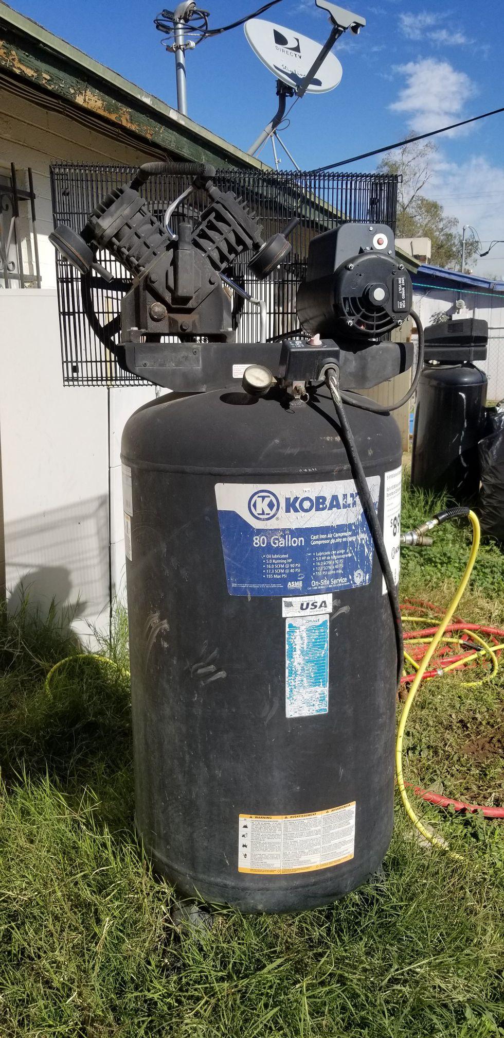 80 gallons Air compressor good condition