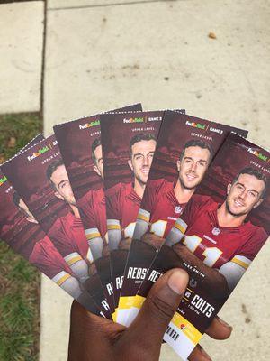 Redskins opener 6 tickets for Sale in Greater Landover, MD