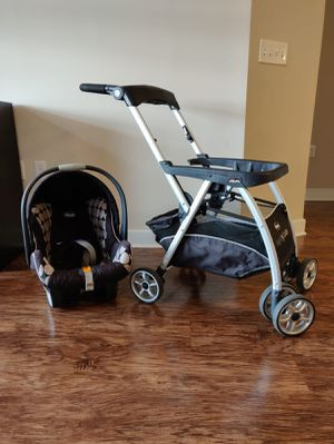 Chicco Carseat, Base, and Stroller Caddy!! for Sale in Alexandria, VA