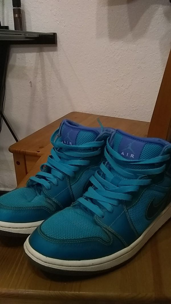 quality design 9d2e4 fbbf3 Nike Air Jordan 1 Phat High Marina Blue White.
