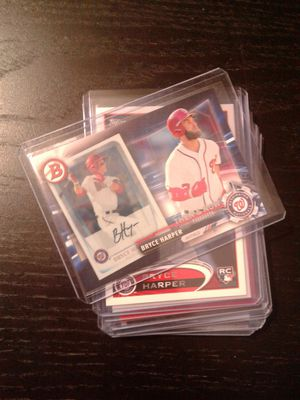 Bryce Harper Baseball cards for Sale in Orlando, FL