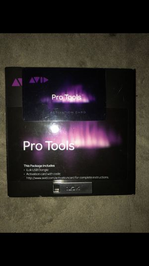 Pro Tools Perpetual License w. Annual upgrade for Sale in New York, NY