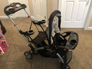 Photo Baby Trend double stroller