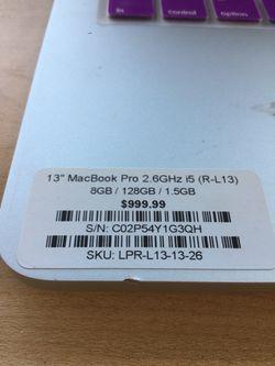 "13"" MacBook Pro Retina i5 Thumbnail"