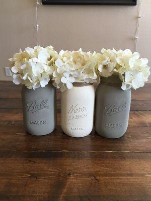 DIY Mason jar centerpiece for Sale in Dallas, TX