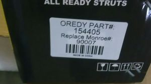OREDY Complete Struts/Shocks SUV for Sale in Monroe, NC - OfferUp
