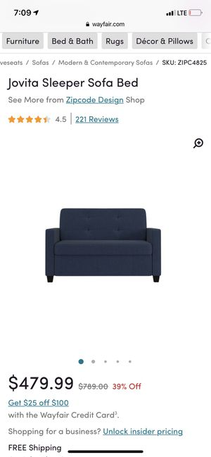 Admirable New And Used Sleeper Sofa For Sale In Perris Ca Offerup Short Links Chair Design For Home Short Linksinfo