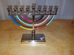 6 1/2 inch Hanukkah menorah for Sale in Elizabethtown, PA