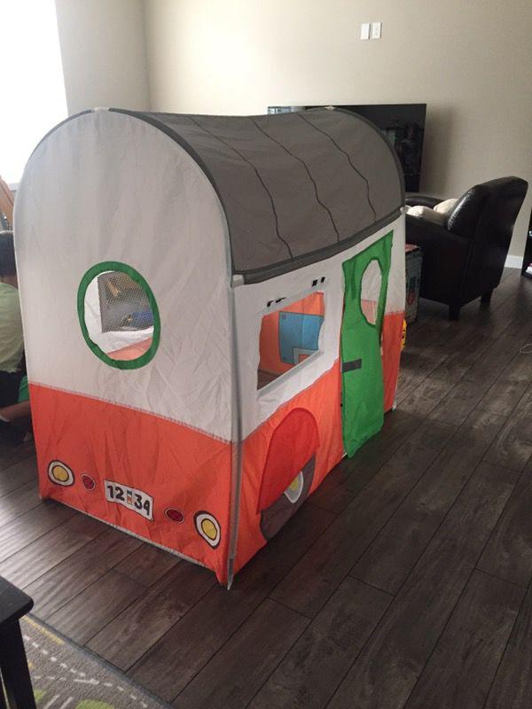Kids trailer tent