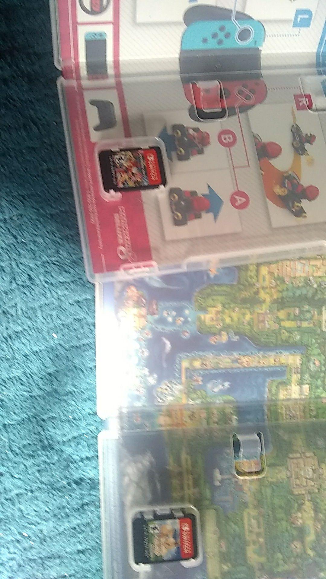 Mario kart 8 and Pokemon eevee