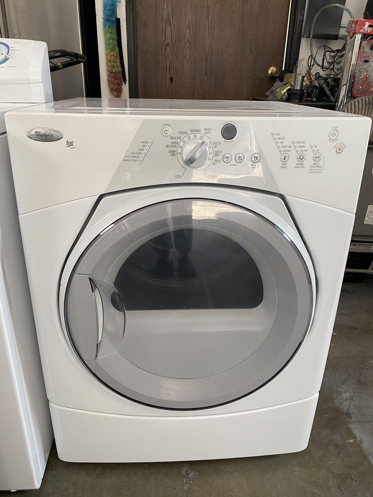 Dryer Gas Whirlpool