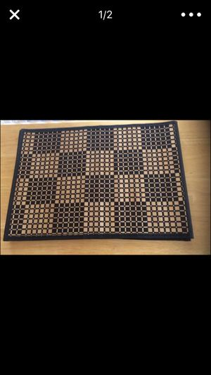 4 Bamboo woven placemats for Sale in Apex, NC