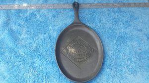 Tabasco Fajitas Iron Skillet for Sale in Scottsdale, AZ