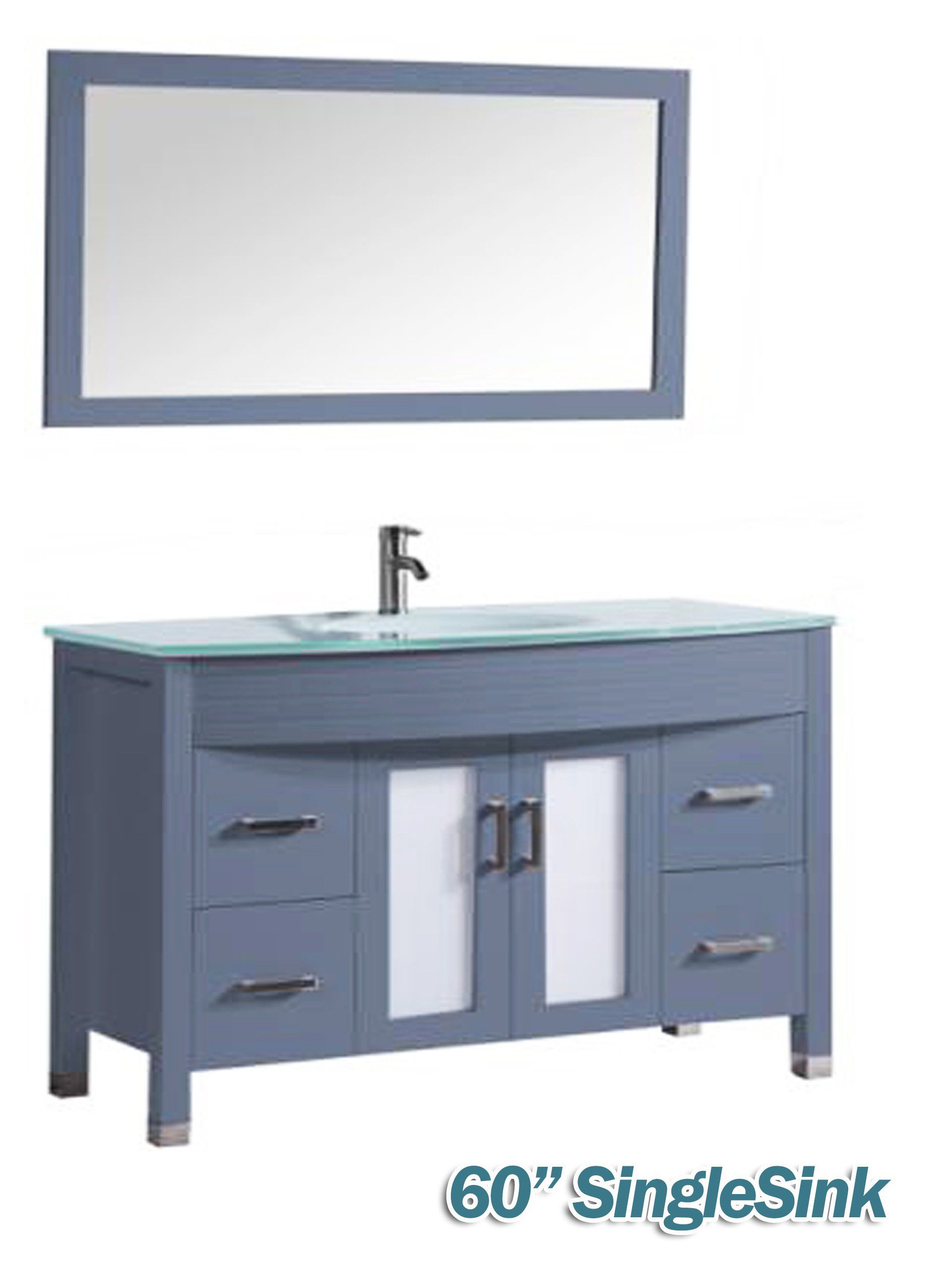 """48"""" & 60"""" bathroom vanity CORAL SPRINGS"""