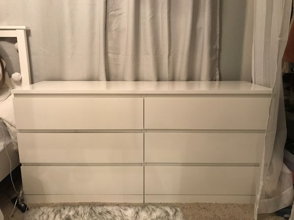 huge selection of c4f98 53c77 White IKEA Malm Dresser for Sale in Pleasanton, CA - OfferUp
