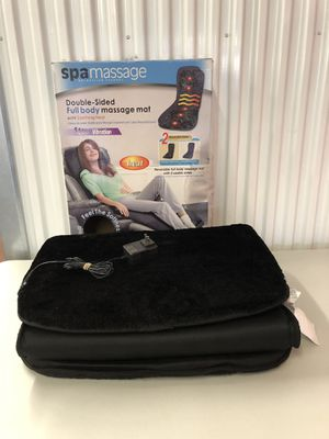 FULL BODY Spa massage mat with Heat $25 for Sale in Gaithersburg, MD