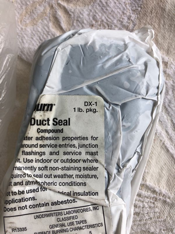 Lot of 5 duct seal 1lb for Sale in Cranston, RI - OfferUp
