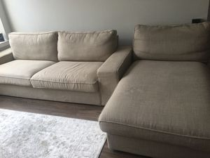 3 pieces IKEA furniture.. 2 Seats sofa.. 1 shezlong.. 1 Ottoman for Sale in College Park, MD