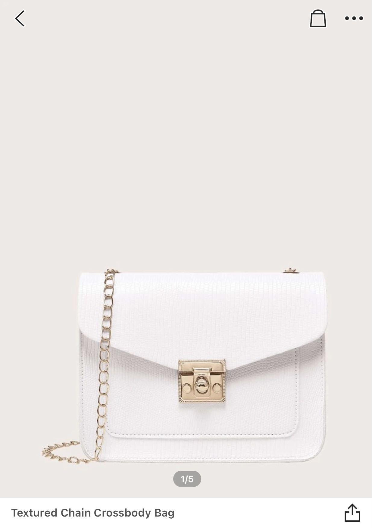 White Mini Purse