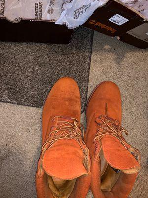 Limited Burnt Orange Timberlands & Af1 for Sale in Indianapolis, IN